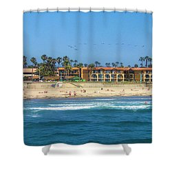 Summertime Shower Curtain by Tammy Espino