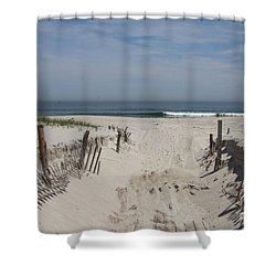 Sun And Sand Shower Curtain by Christiane Schulze Art And Photography