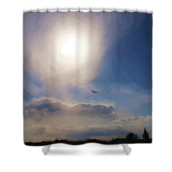 Sun And Skies Shower Curtain