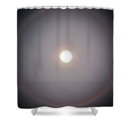 Sun Dog Shower Curtain