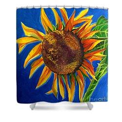 Sun Flower Shower Curtain by Grace Liberator