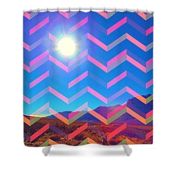 Sun God Shower Curtain