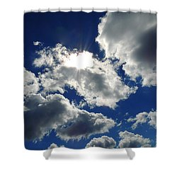 Sun-kissed Shower Curtain