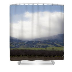 Sun On The South Tehachipis Shower Curtain