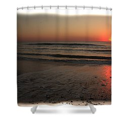 Sun Over The Ocean Shower Curtain
