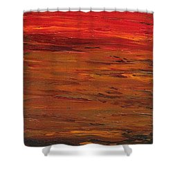 Sun Shade 1 Shower Curtain