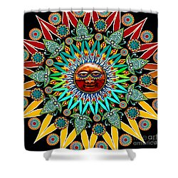 Sun Shaman Shower Curtain
