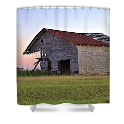 Shower Curtain featuring the photograph Sun Slowly Sets by Gordon Elwell