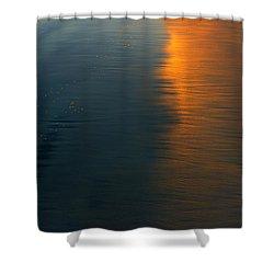 Sun Soaked Beach Shower Curtain by Heidi Smith