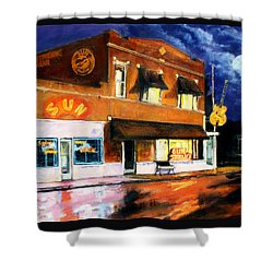 Sun Studio - Night Shower Curtain
