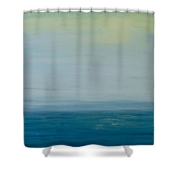 Sunbathed Shower Curtain by Jan Roelofs