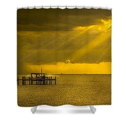 Sunbeams Of Hope Shower Curtain