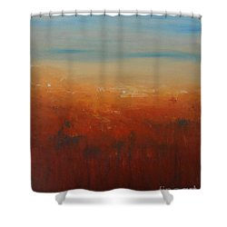 Sunburnt Country Shower Curtain by Jane  See