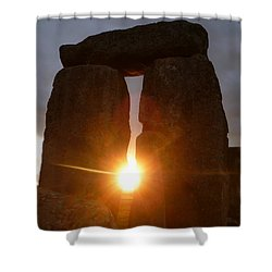 Shower Curtain featuring the photograph Sunburst by Vicki Spindler