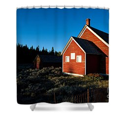 Sunday Morning Coming Down Shower Curtain by Jim Garrison