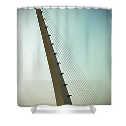 Sundial At Sunrise Shower Curtain