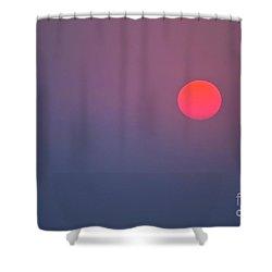 Sundown Shower Curtain by Heiko Koehrer-Wagner