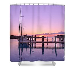 Sundown Serenity Shower Curtain