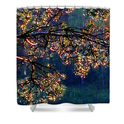 Shower Curtain featuring the photograph Sundrops by Leena Pekkalainen