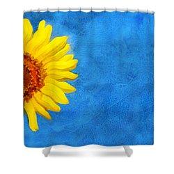 Sunflower Art Shower Curtain by Ann Powell