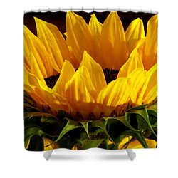 Sunflower Crown Shower Curtain