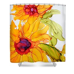 Sunflower Duo Shower Curtain