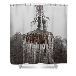 Sunflower Ice Princess Shower Curtain by Diannah Lynch