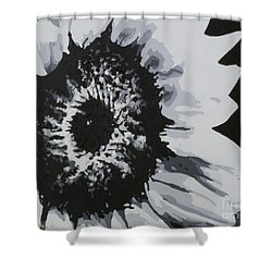 Sunflower Shower Curtain by Katharina Filus