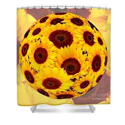 Sunflower Sunshine Shower Curtain