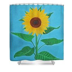 Sunflower Shower Curtain by Sven Fischer