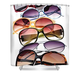 Sunglasses Shower Curtain by Elena Elisseeva