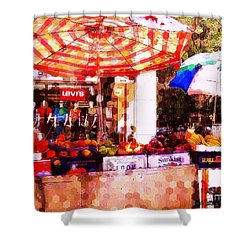 Shower Curtain featuring the photograph Sunkist by Miriam Danar