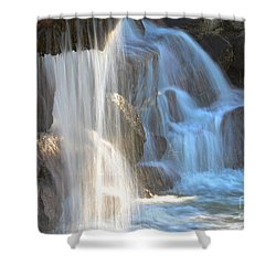Sunlight On The Falls Shower Curtain