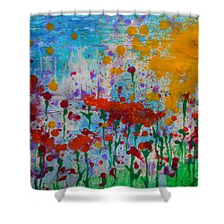 Sunny Day Shower Curtain by Jacqueline Athmann