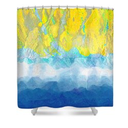 Sunny Day Waters Shower Curtain