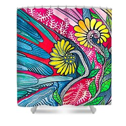Sunny Spring Shower Curtain