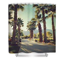 Sunny Warm Happy Shower Curtain by Laurie Search