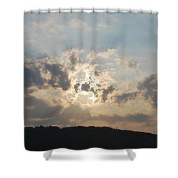 Shower Curtain featuring the photograph Sunrise 1 by George Katechis