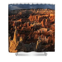 Sunrise At Bryce Canyon Shower Curtain by Sandra Bronstein
