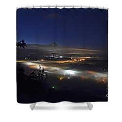 Sunrise At Buzzard's Bluff Shower Curtain