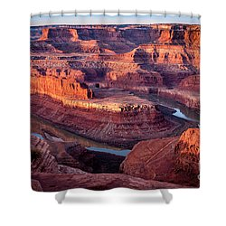 Sunrise At Dead Horse Point Shower Curtain