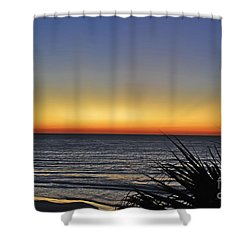 Sunrise At Folly Shower Curtain