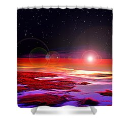 Sunrise At Fourty Thousand  Shower Curtain