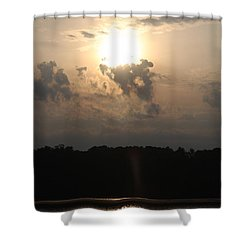 Sunrise At Hp City Lake Shower Curtain