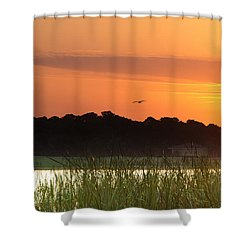 Sunrise At Lakewood Ranch Florida Shower Curtain