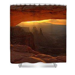 Sunrise At Mesa Arch 2 Shower Curtain