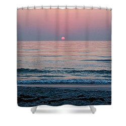 Sunrise Blush Shower Curtain by Julie Andel
