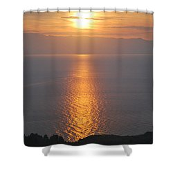Sunrise Erikousa 1 Shower Curtain