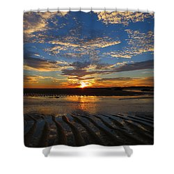 Shower Curtain featuring the photograph Sunrise Glory by Dianne Cowen