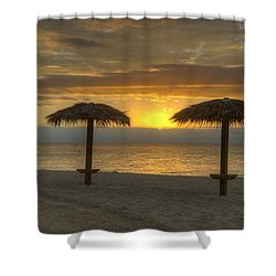 Sunrise Glory Shower Curtain